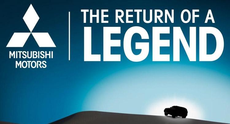 Mitsubishi Return of a Legend Teaser