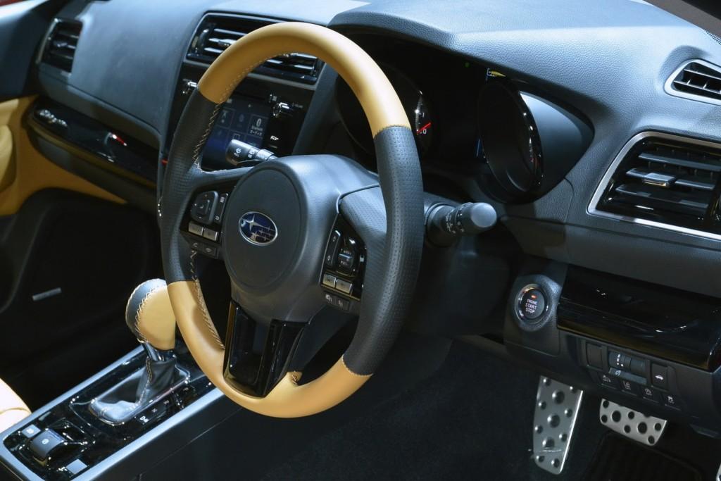 Subaru Legacy B4 Blitzen Interior