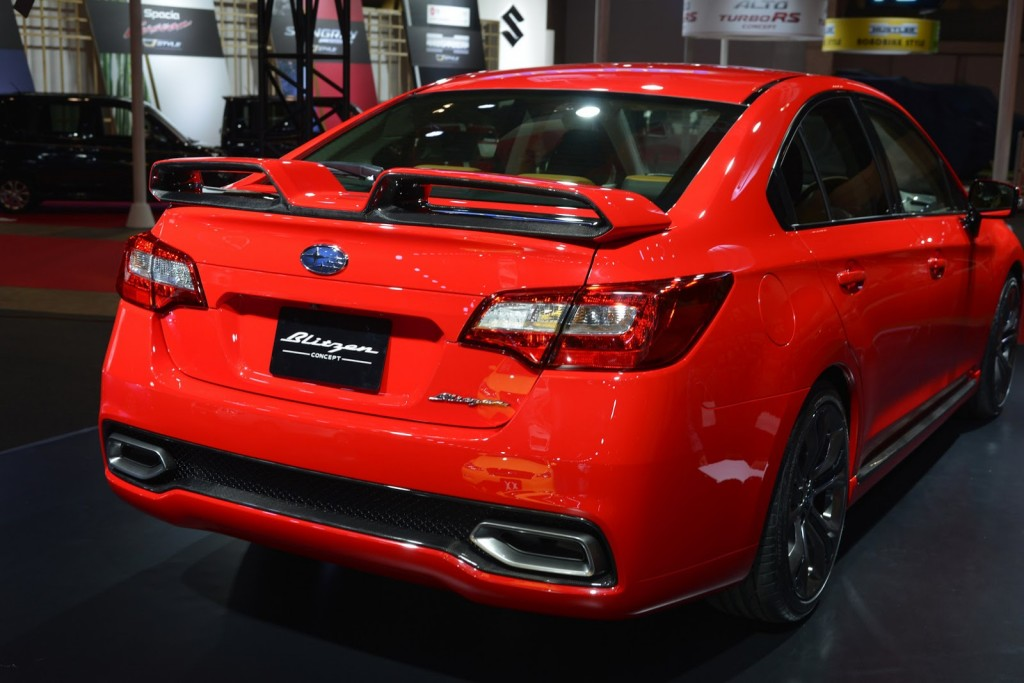 Subaru Legacy B4 Blitzen Study