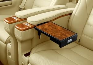 Toyota Alphard tray table