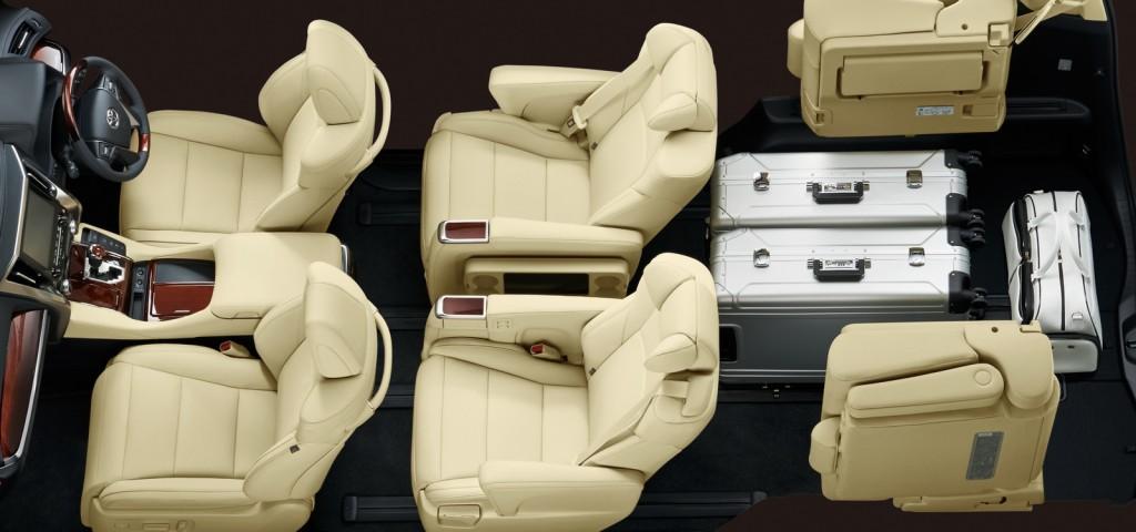 Toyota Vellfire interior
