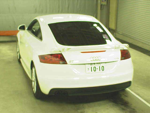 2012 Audi TT rear view