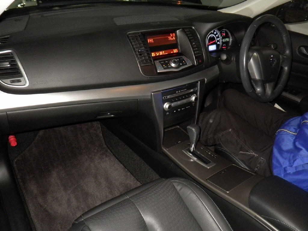 2012 Nissan Teana 250XL Sport Selection interior