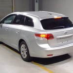 2012 Toyota Avensis rear view