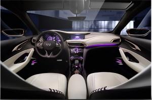 2013 Infiniti Q30 Concept interior