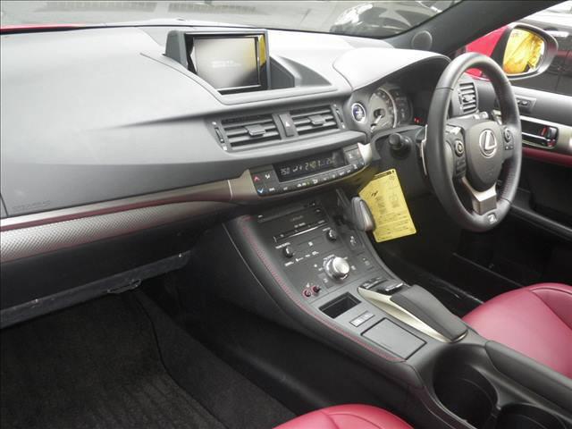 2014 Lexus CT 200h F Sport interior