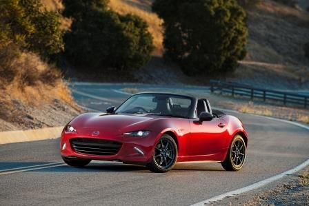 2016 MX-5 Miata top down