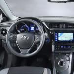 New Toyota Auris Interior