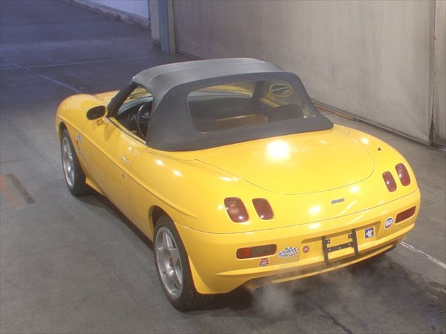 1997 Fiat Barchetta rear