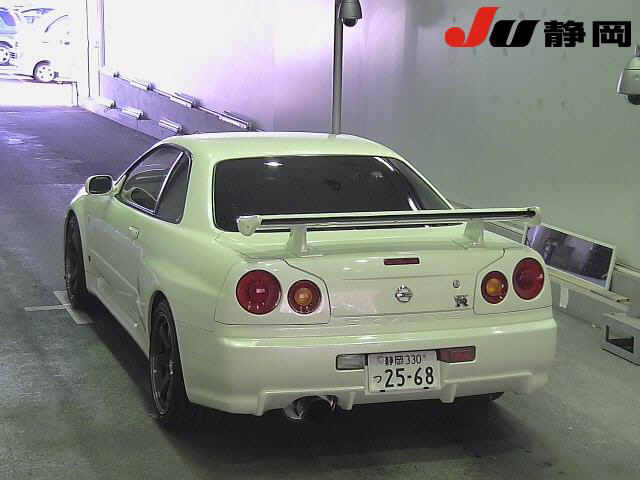 2002 Nissan Skyline GT-R rear