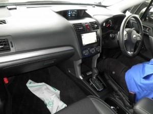2013 Subaru Forester 2.0XT interior