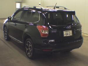 2013 Subaru Forester 2.0XT rear view