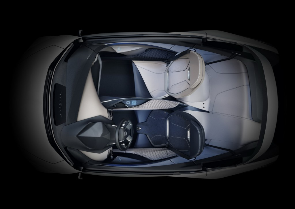 2015 Lexus LF-SA Concept birds-eye view