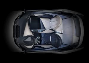 2015 Lexus LF-SA Concept birds-eye view
