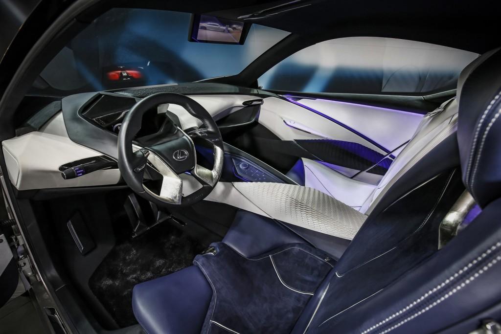 2015 Lexus LF-SA Concept interior