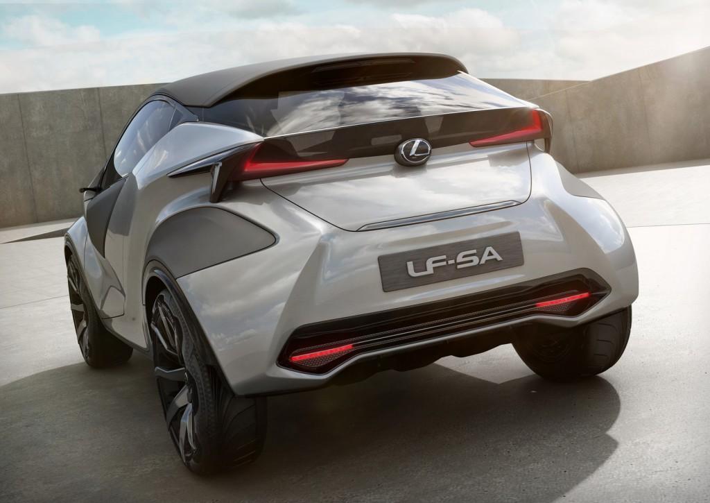 2015 Lexus LF-SA Concept rear