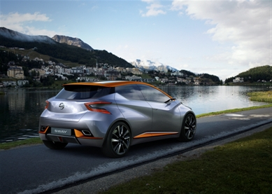 2015 Nissan Sway Concept rear