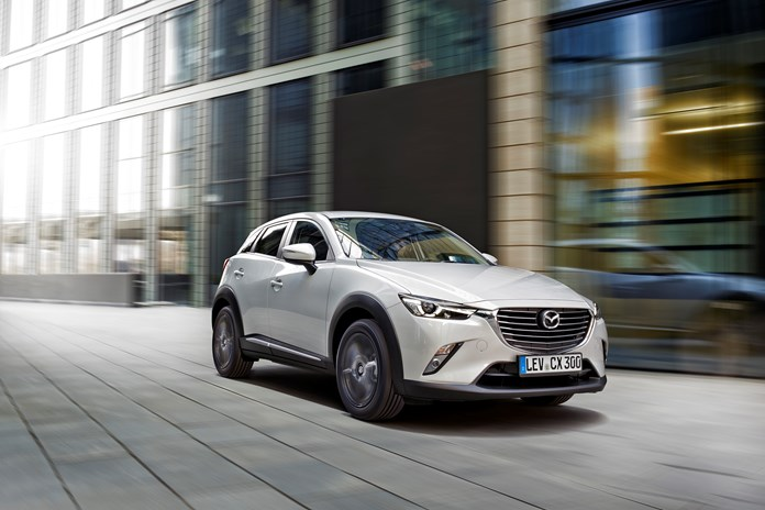 2016 Mazda CX-3 in action