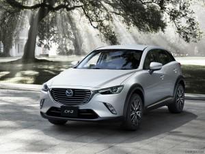 2016 Mazda CX-3 silver