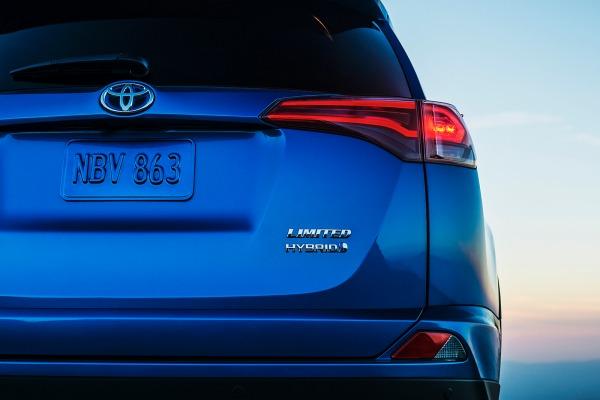 2016 Toyota RAV4 Hybrid teaser