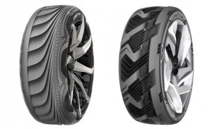 Goodyear BH-03 and Triple Tube Tire Concepts