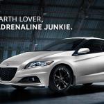 Honda CR-Z part earth lover part adrenaline junkie