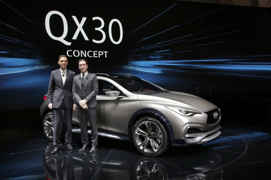 Infiniti QX30 Concept at the Geneva Motor Show