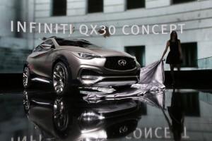 Infiniti QX30 Concept unveiling