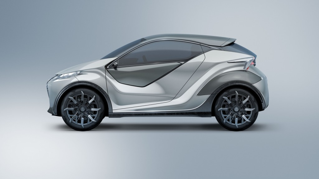 Lexus LF-SA Concept profile