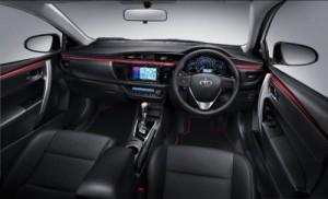 Toyota Corolla ESPort Nurburgring edition interior