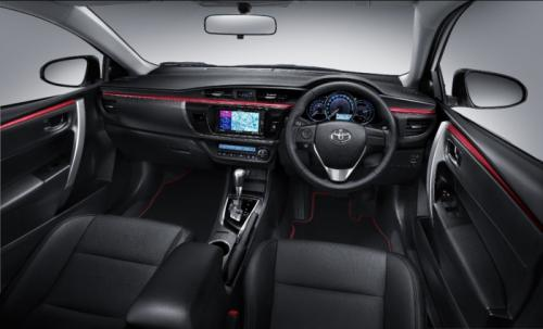 Toyota Corolla ESPort Nurburgring edition interior