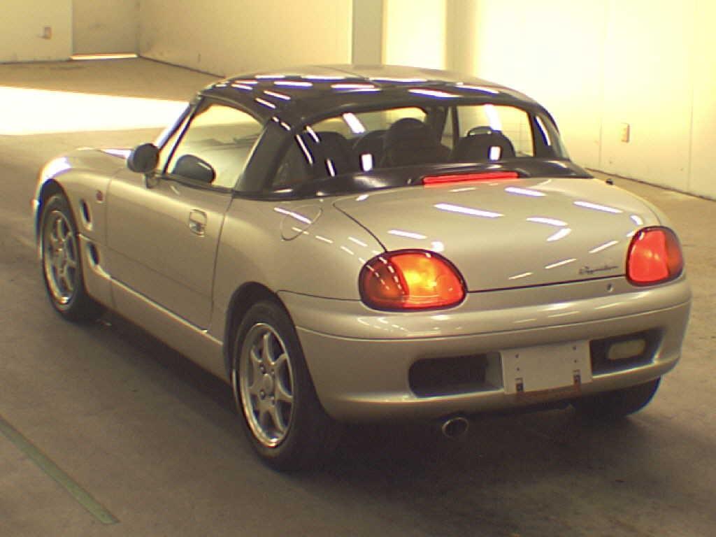 1992 Suzuki Cappuccino rear