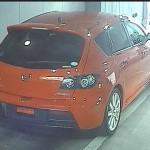 2007 Mazdaspeed3 rear