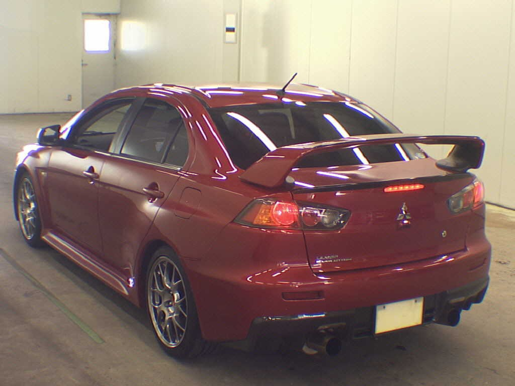 Mitsubishi Lancer 2010 Japanese Car Auction Find 2010 Mitsubishi Lancer Evo Gsr