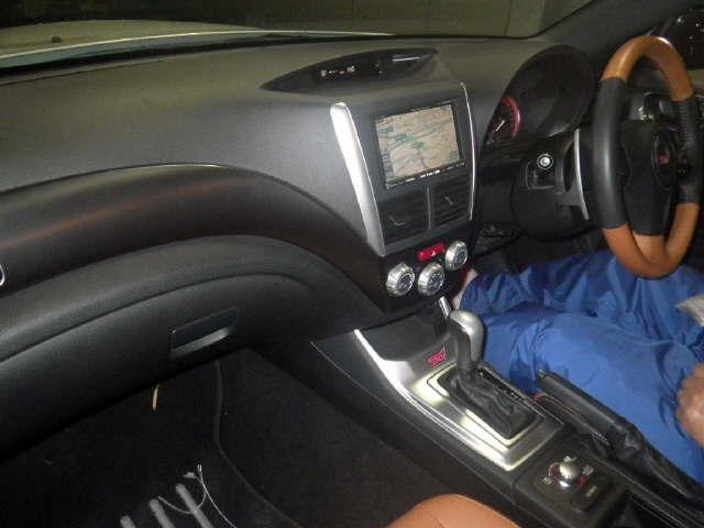 2010 Subaru WRX STI A-Line interior