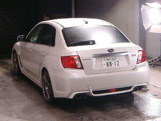 2010 Subaru WRX STI A-Line rear