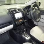 2012 Mitsubishi Mirage interior