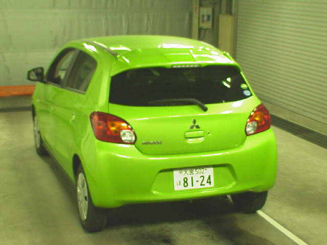 2012 Mitsubishi Mirage rear