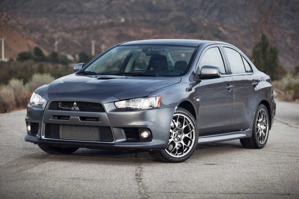 2014 Mitsubishi Lancer Evolution MR Touring