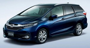 2015 Honda Jazz Shuttle Hybrid