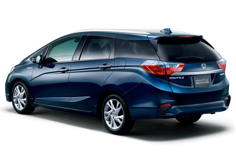 2015 Honda Jazz Shuttle rear
