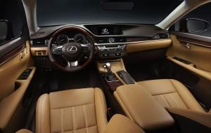 2016 Lexus ES 200 interior