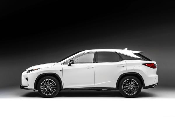 2016 Lexus RX profile