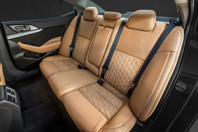 2016 nissan Maxima rear seats