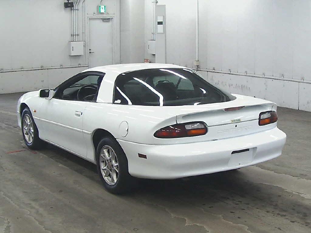 2002 Chevrolet Camaro rear