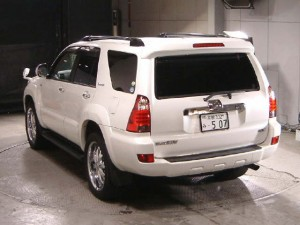 2006 Toyota Hilux Surf rear