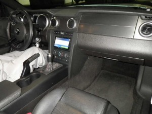 2012 Ford Mustang interior