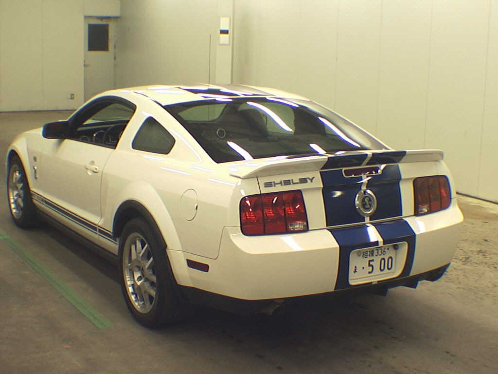2012 Ford Mustang rear