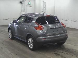 2012 Nissan Juke rear