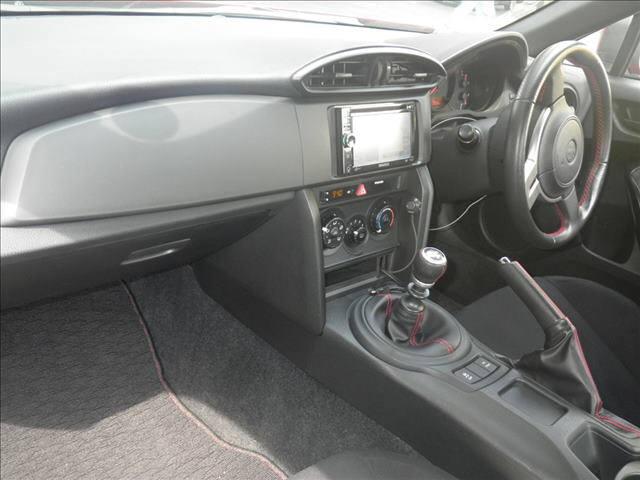 2012 Toyota 86 interior